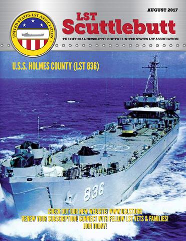 Scuttlebutt August 2017 COVER