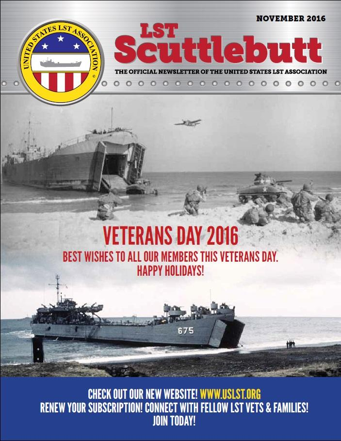 Scuttlebutt Cover November 2016