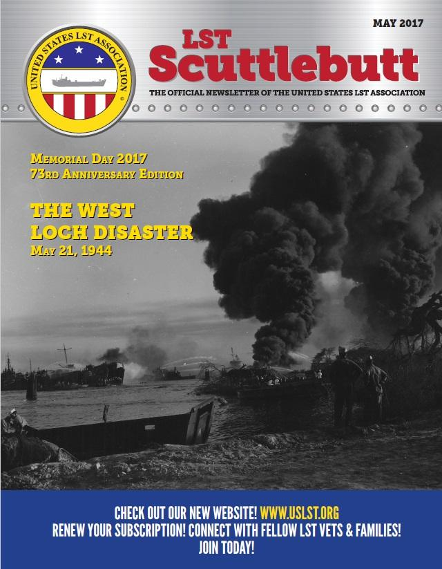 Scuttlebutt Issue 11 May 2017 Cover