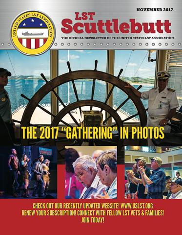 Scuttlebutt Issue 13 November 2017 COVER