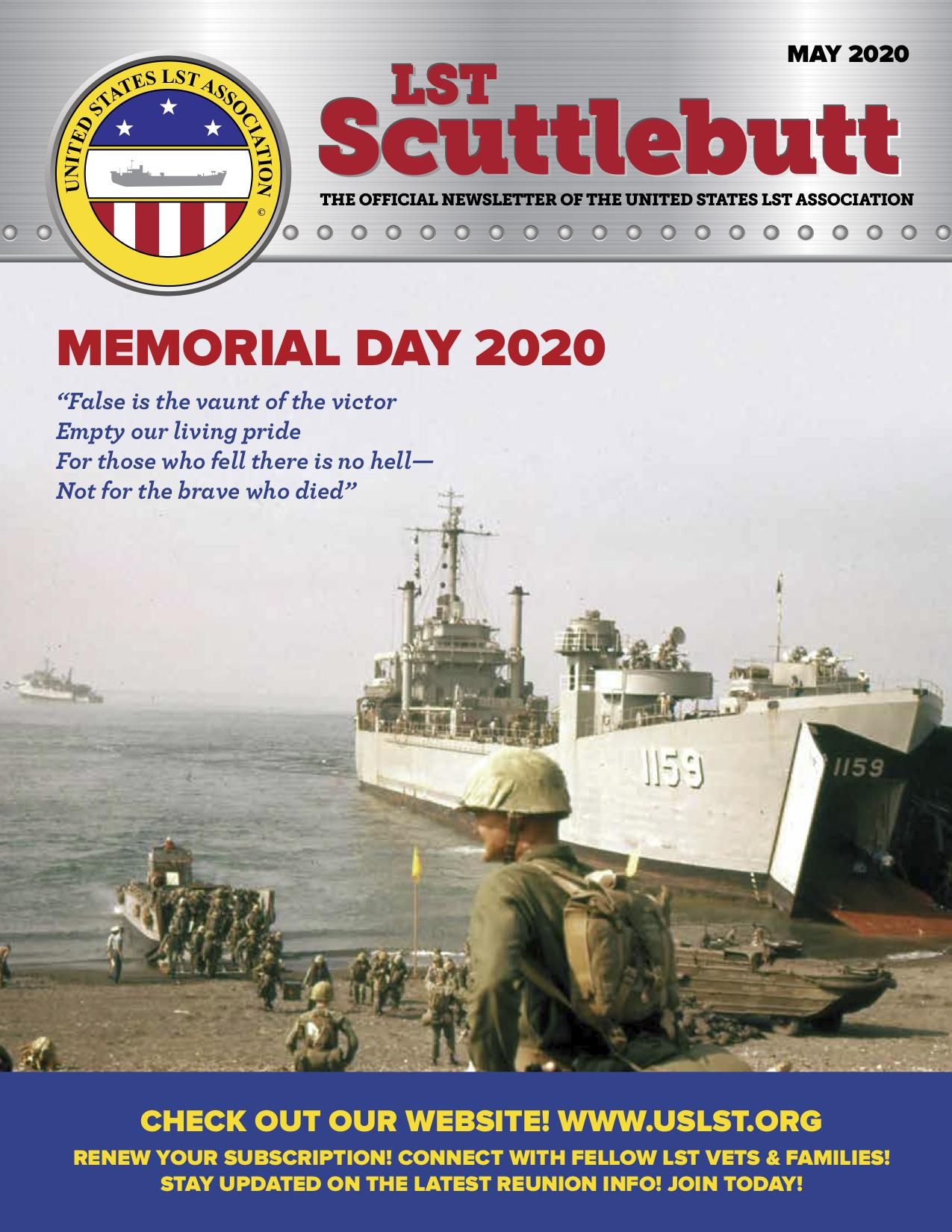 Scuttlebutt Issue 23 May 2020 COVER