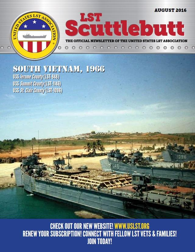 Scuttlebutt Issue 8 August 2016 Cover