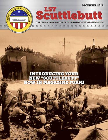 Scuttlebutt Issue 1 Dec 2014 COVER