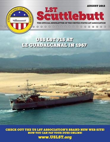 Scuttlebutt Issue 4 August2015 Cover